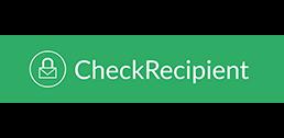 CheckRecipient template size